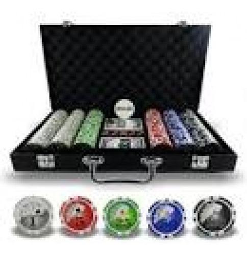 maleta de poker c/500 fichas