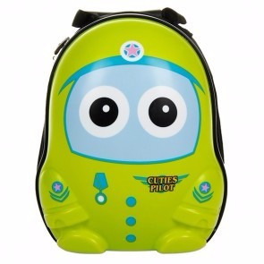 maleta de viaje cuties de niños + mochila