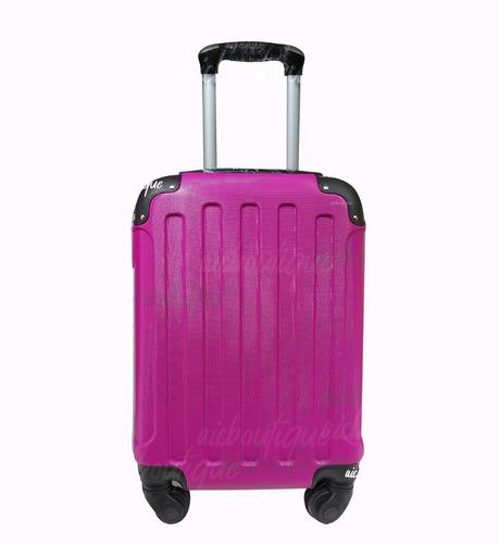 maleta de viaje equipaje de cabina retiro o envío
