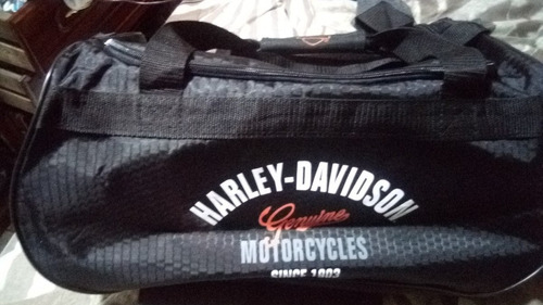 maleta de viaje harley davidson