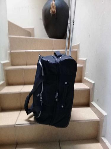 maleta de viaje kipling azul m.
