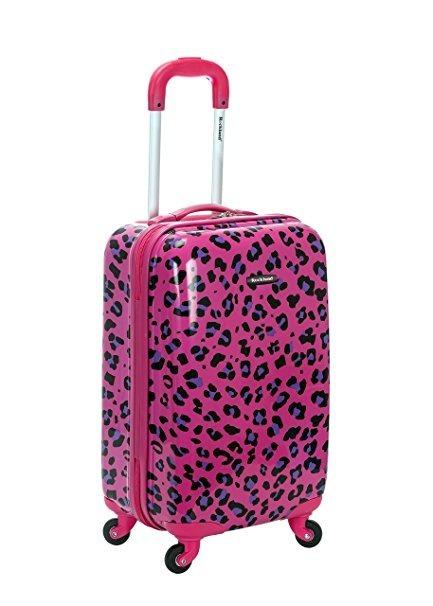 445dc31ee Maleta De Viaje Para Mujer Color Rosa-negro Marca Rocklan ...