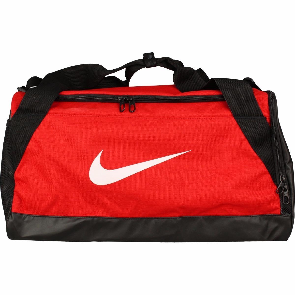 3dfc0abf maleta deportiva nike brasilia rojo/negro grande con envío. Cargando zoom.