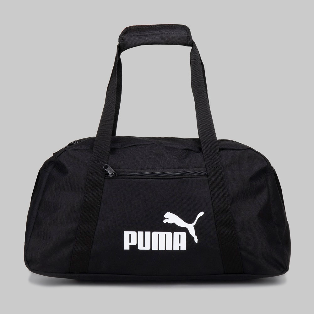 a8d86e81a maleta deportiva puma negra phase sport essentials envio g. Cargando zoom.