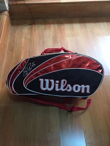 maleta deportiva wilson/raquet more win 15 pack