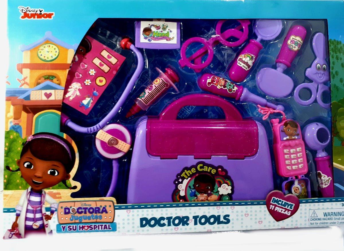 Maleta Doutora Brinquedos Acessorios 11 Pecas Medico Doctor R