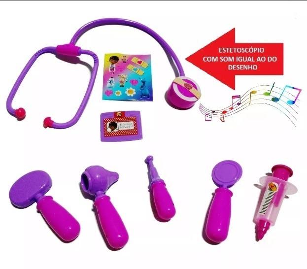 Maleta Doutora Brinquedos Brinquedo Com Som Pronta Entrega R 76