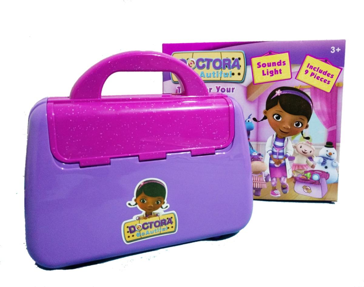 592242e5a02 Maleta Doutora Brinquedos + Relógio Com Projetor - R  89