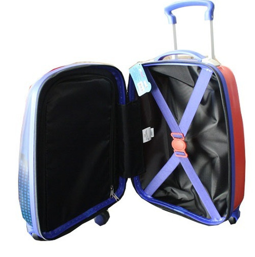 maleta dura con 4 ruedas spiderman+ envío gratis