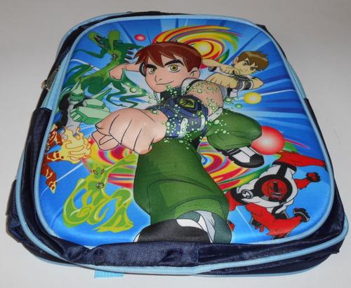 maleta escolar  infantil para niña 3d figura en alto relieve