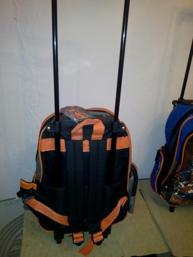 maleta escolar rueditas peq preescolar niño