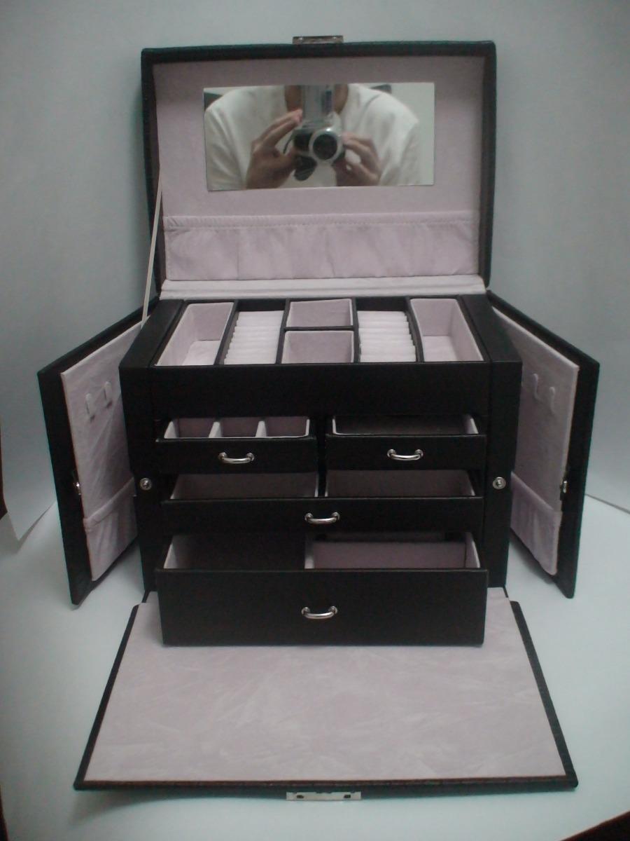 ce806d70202 maleta estojo porta jóia pj185 vip+brinde relógio bracelete. Carregando  zoom.
