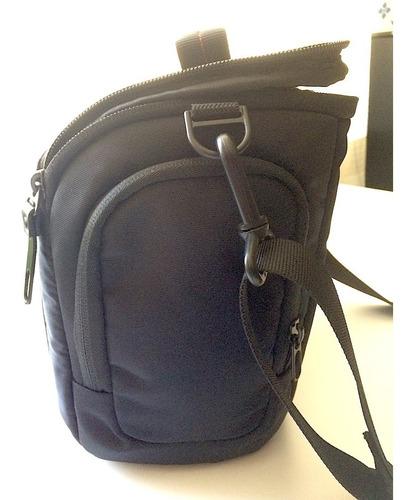 maleta estuche bolsa mediana con correa para cámara foto