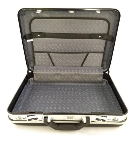 maleta executiva com cadeado e segredo grande yins - ys05000