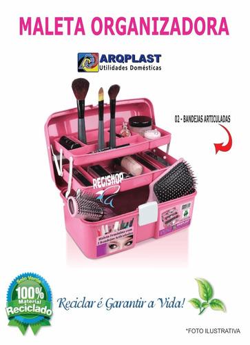 maleta feminina rosa, beleza, mulher, manicure