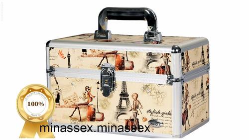 maleta grande completa de maquiagem!! ruby´s +03 kit lenço