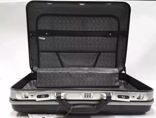 maleta grande executiva em abs, com segredo, yins- ys05001