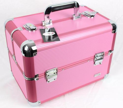 maleta grande kit maquiagem completa avon vários itens v649