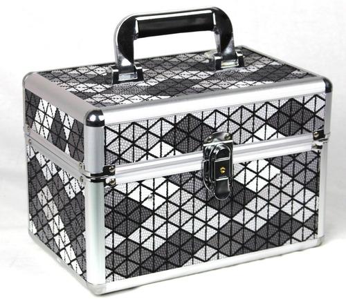maleta grande kit maquiagem profissional completo avon v327