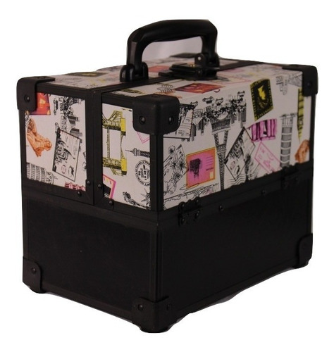 maleta grande vazia sem maquiagem profissional maquiador