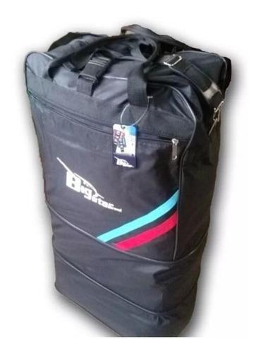 maleta grande viajera - bolso tipo maleta expandible 3 nivel