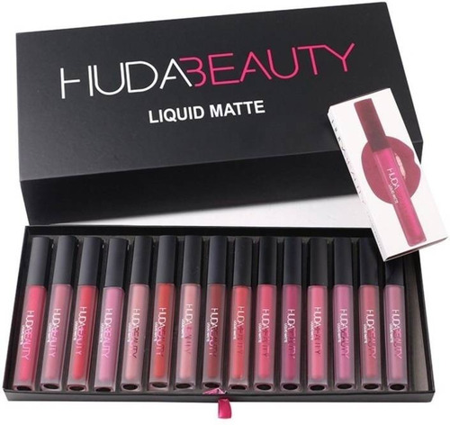 maleta huda beauty 16 colores