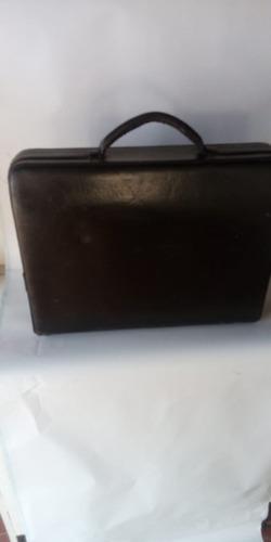 maleta induarte couro com 2 segredos - raridade
