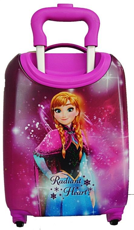e1497bc0b Maleta Infantil Frozen Ana O Elsa Disney Ruedas Viaje Niña ...