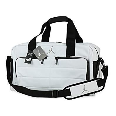 maleta jordan duffle all world white ropa y tenis limited ed