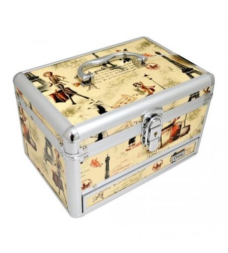 maleta kit maquiagem completa profissional tudo ruby rose