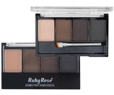 maleta + kit maquiagem + lapis delineador + sombra ruby rose
