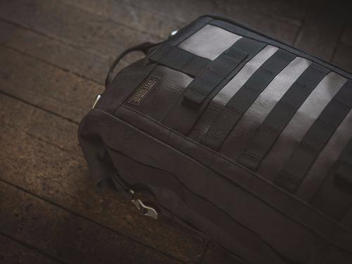 maleta legend tipo back pack con cinchos para montar en moto
