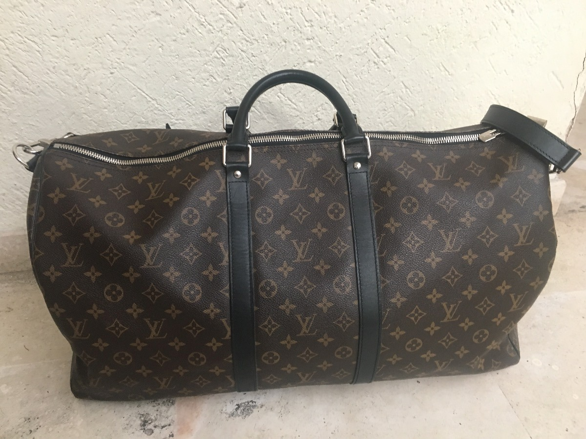 851c78786 maleta louis vuitton original keepall 55 monogram bandolera. Cargando zoom.