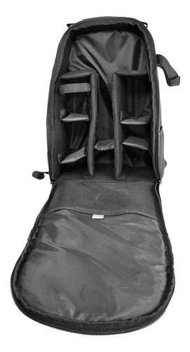 maleta maletin camara dslr canon nikon lente tripode y accs.
