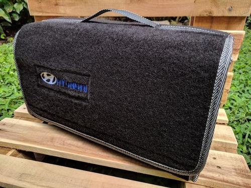 maleta maletin estuche alfombra kit carretera hyundai