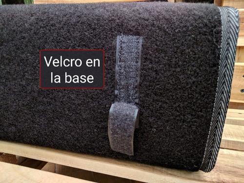 maleta maletin estuche alfombra kit carretera kia carros