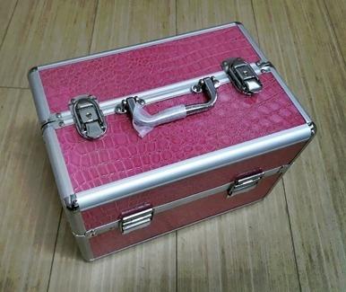 maleta manicure con bandeja porta esmaltes