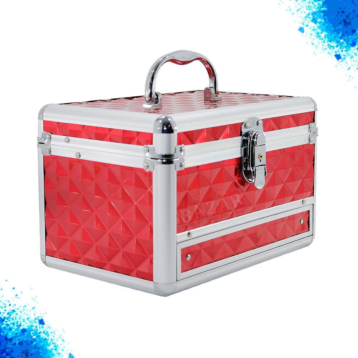 eb4f58c96 maleta maquiagem e joias retrátil vazia cisne vermelha 5140m. Carregando  zoom.