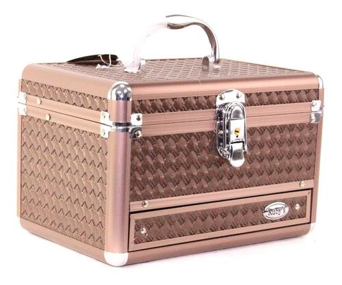 maleta maquiagem grande vazia profissional rubys c/ chaves