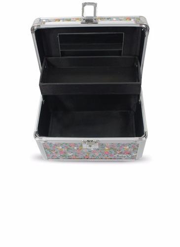 maleta maquiagem jóias alumínio profissional rubys pequena