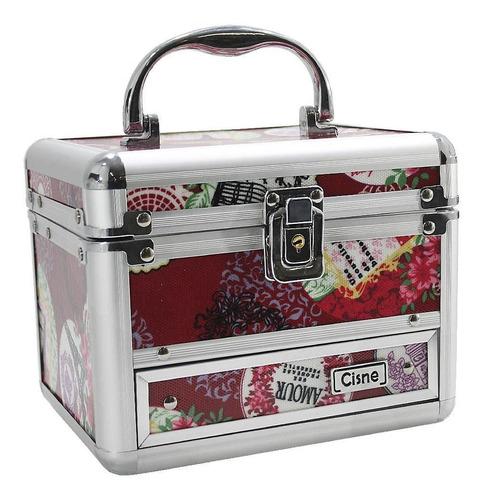 maleta maquiagem mega completa ruby rose essencial 12x s/jur