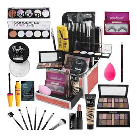 Maleta Maquiagem Mega Completa Ruby Rose Essencial Ultra Top