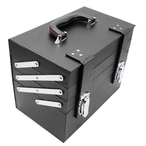 maleta maquiagem organizadora de esmaltes, joias bijuterias