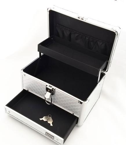 maleta maquiagem profissional organizador rubys automatica