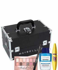 c7492abf7 Maleta Maybelline Completa - Maquiagem no Mercado Livre Brasil