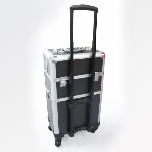 maleta maquillaje manicure profesional xxl 4 ruedas r3907