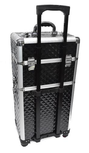 maleta maquillaje profesional con ruedas 360 grados