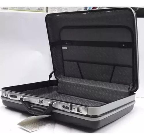 maleta média executiva em abs, com segredo, yins- ys05001