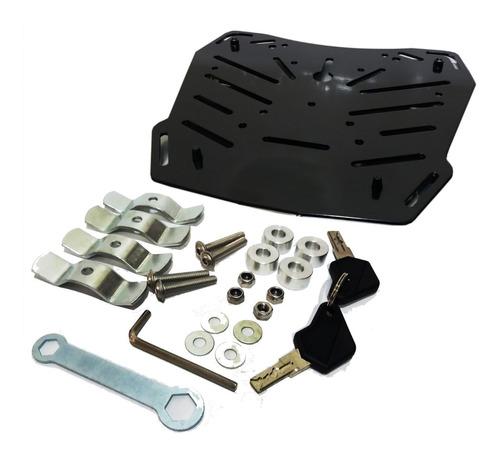 maleta moto top case rex e70 aluminio 45 litros