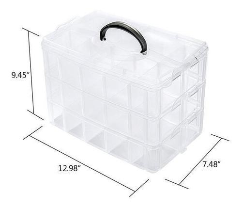 maleta organizador caixa organizadora 30 divisoria box pesca